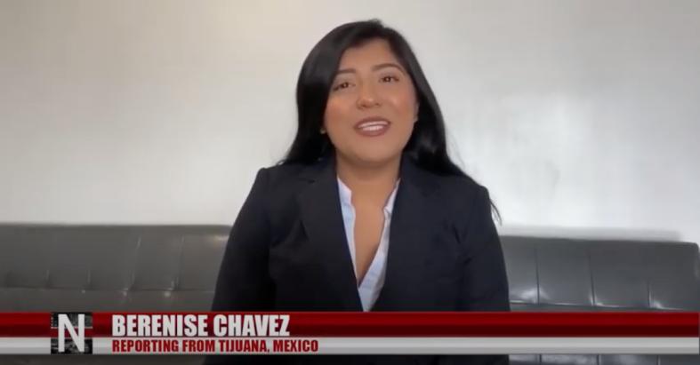 Berenise Chavez reporting from Tijuana